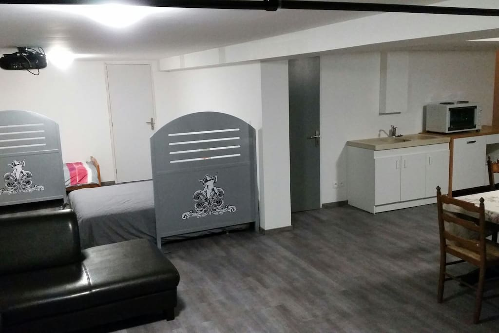 orleans grand appartement dans maison saran 1. Black Bedroom Furniture Sets. Home Design Ideas