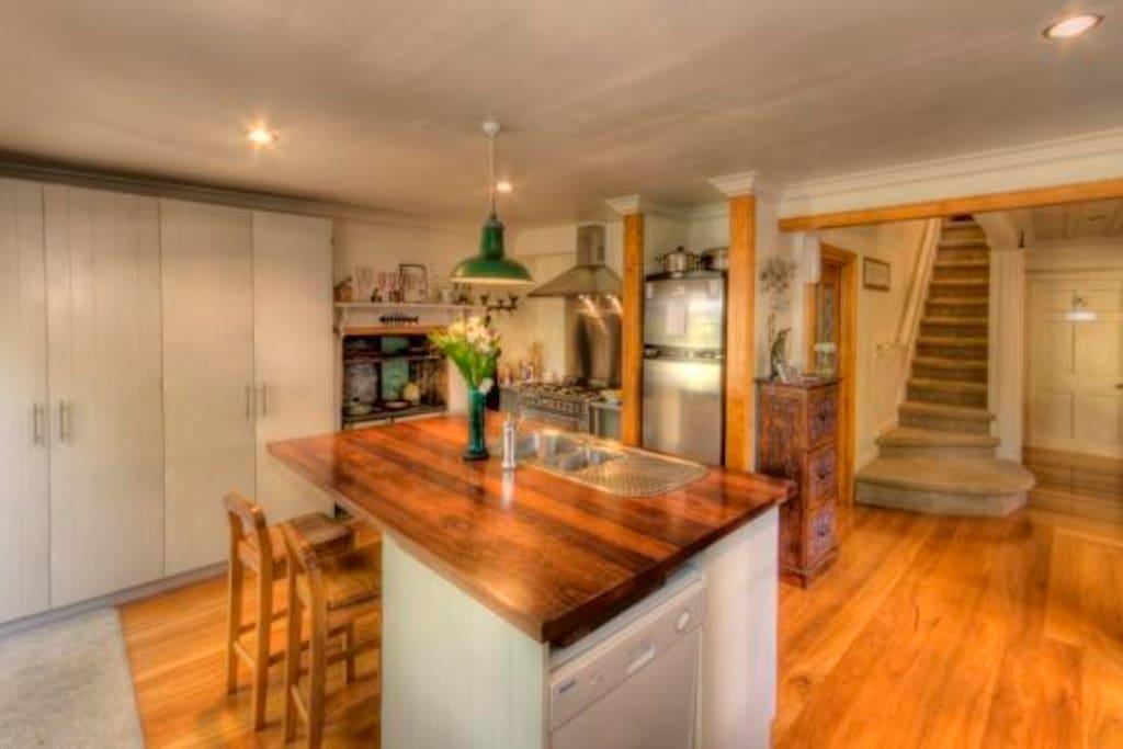 Private Guest kitchen
