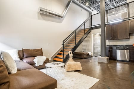 Loft w/parking Short North Downtown - Columbus - Pis