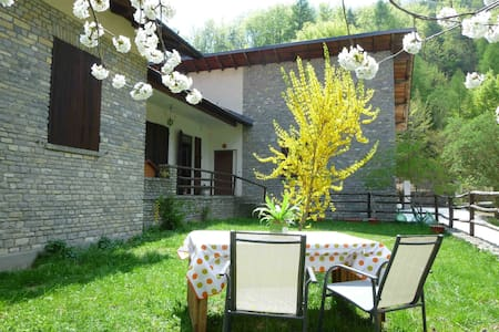 Garden apartment - Ligurian Alps - Ormea - アパート