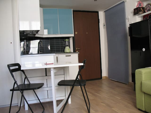 One room studio in the city center