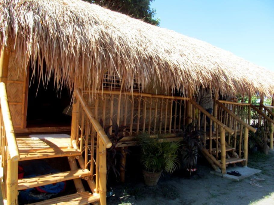 You will experience the simple and authentic hut in the province.