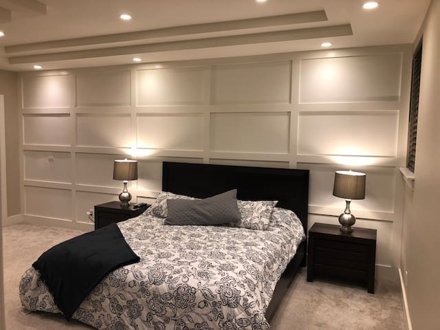 This is the master bedroom