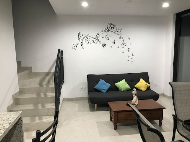 Habitación privada en coto residencial en Vallarta