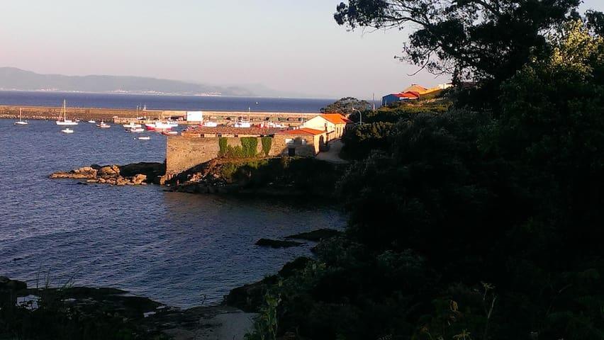 studio avec vue sur la mer