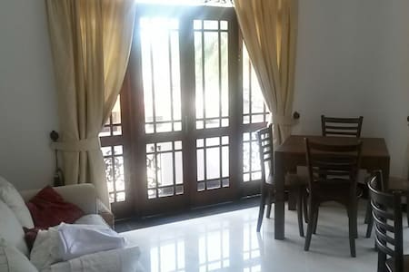 Balcony double room @ beach villa - Waddua - Villa