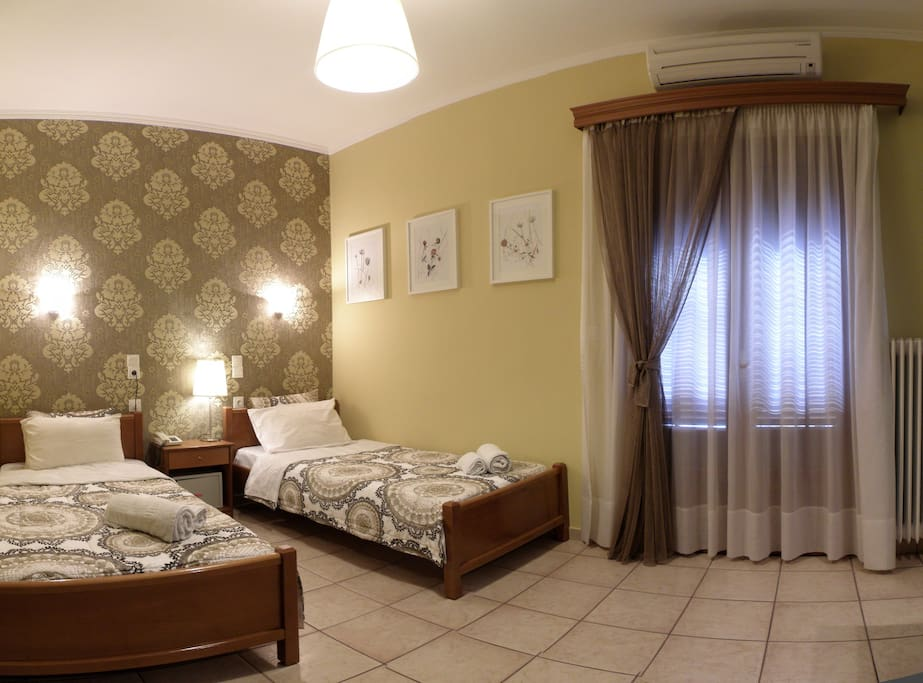 Twin double room