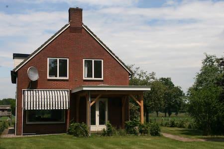 landelijk ruim vrijstaand huis - Holten - Σπίτι