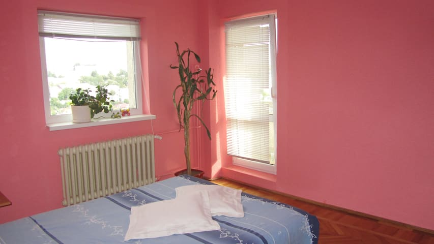 Room with private bathroom, view. - Tulcea - Apartment