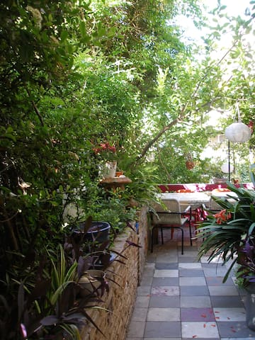Dreamstudio inside Multi level Garden