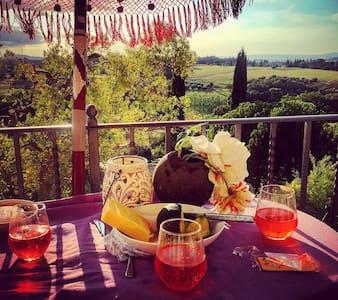 Magical 6bed Villa Gioiella Umbria Tuscany Border - Castiglione del lago - Villa