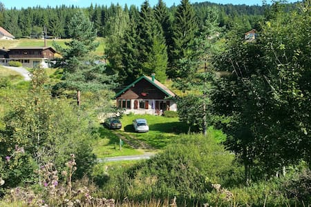 charming chalet in unspoilt mountain location