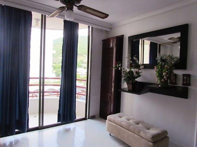 Hermoso Apartaestudio en el Rodader - Santa Marta (Distrito Turístico Cultural E Histórico) - Apartment