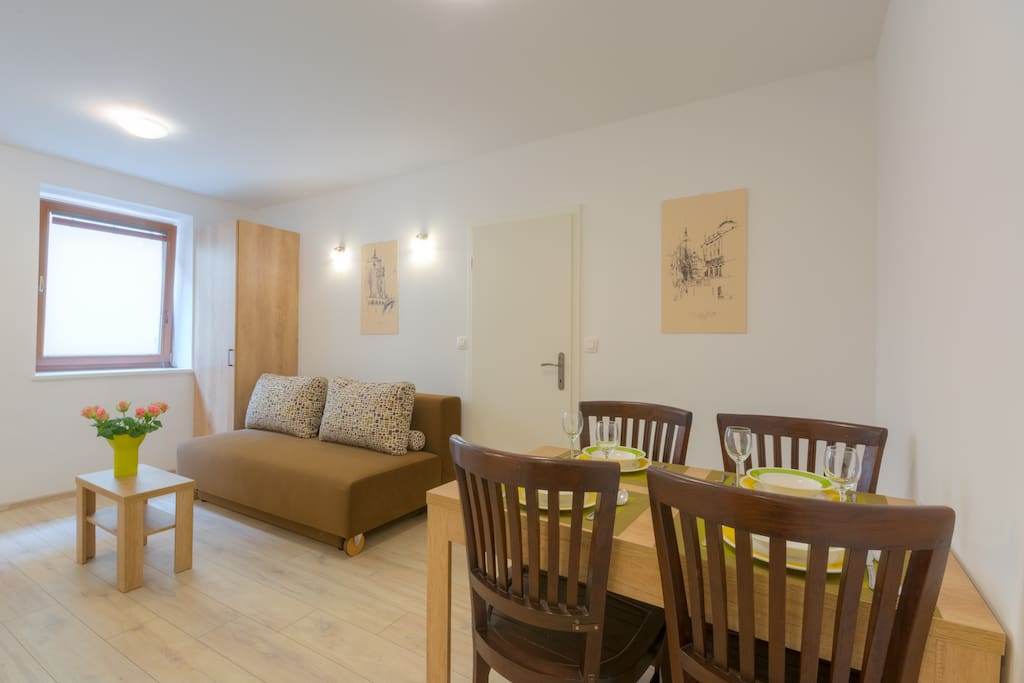 OLD TOWN Rooms and Apartments – Apartment 3 - Living Room
