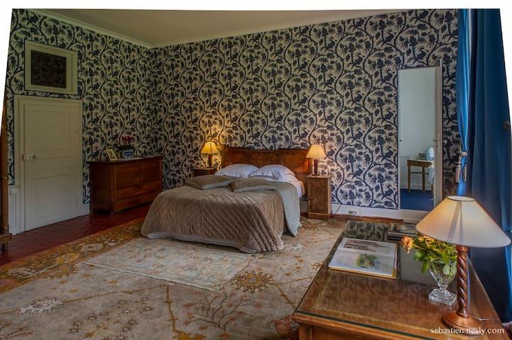 la chambre aux paons
