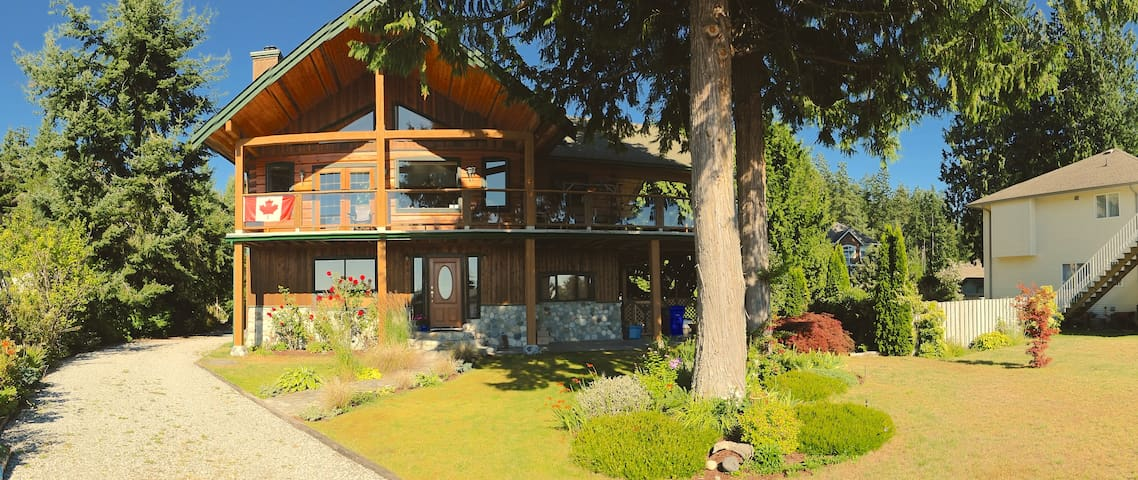 Cedarview Retreat B&B - Sechelt - Casa