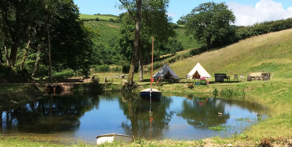 Woolcombe Valley - solely for you and your family