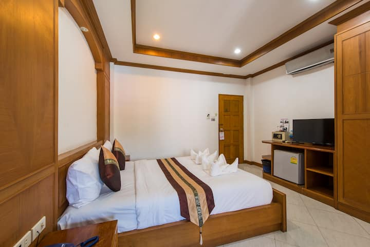 B superior double room #quiet#nice#people  :)