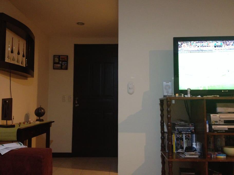 Shared TV on Living Room
