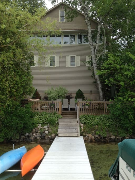 Private Deck and Pier