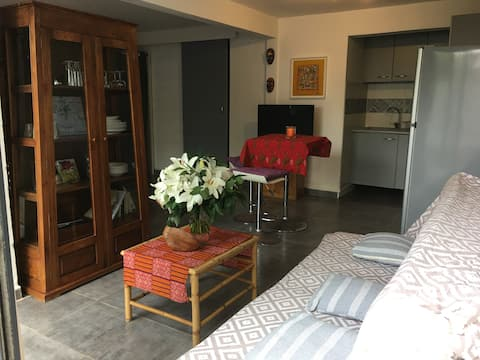 To rent: independant studio at home