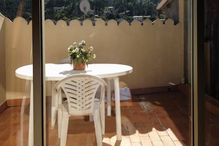 Cosy apartment in Entrevaux w/views - Entrevaux - Pis