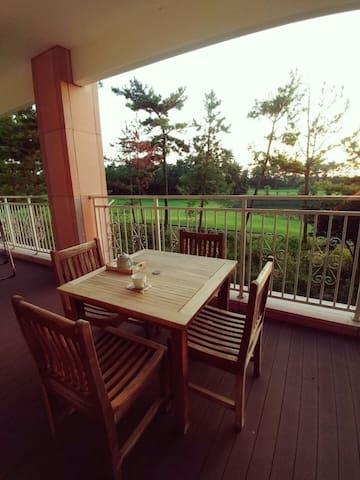 Jeju Raon private resort.