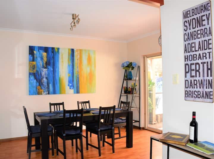 Comfortable house, adjoining loft & helpful host