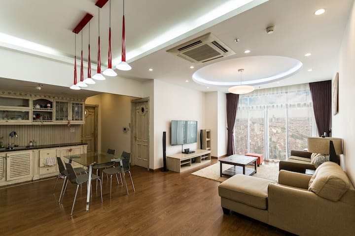Apt  Royal City Hanoi Tout confort Vue Imprenable - Ngã Tư Sở - Apartment