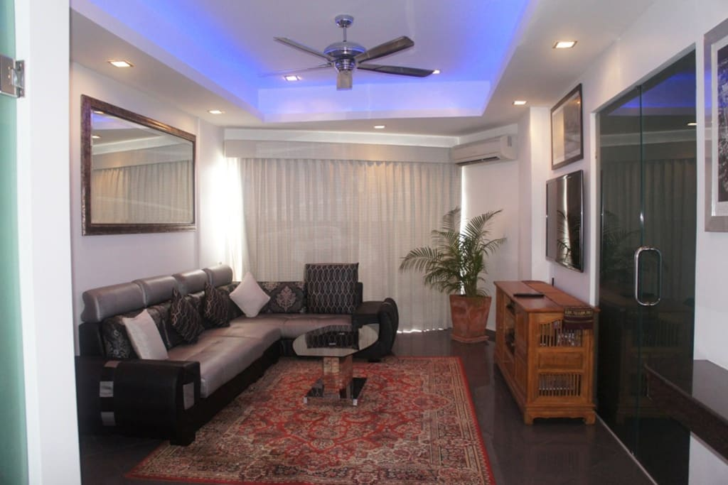 The One Bedroom Apartment is beautifully furnished
