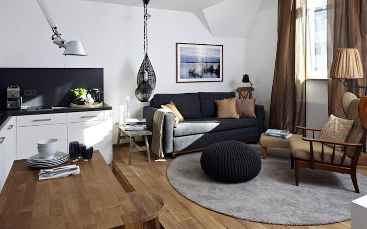 stylish and cool: our designer apartment