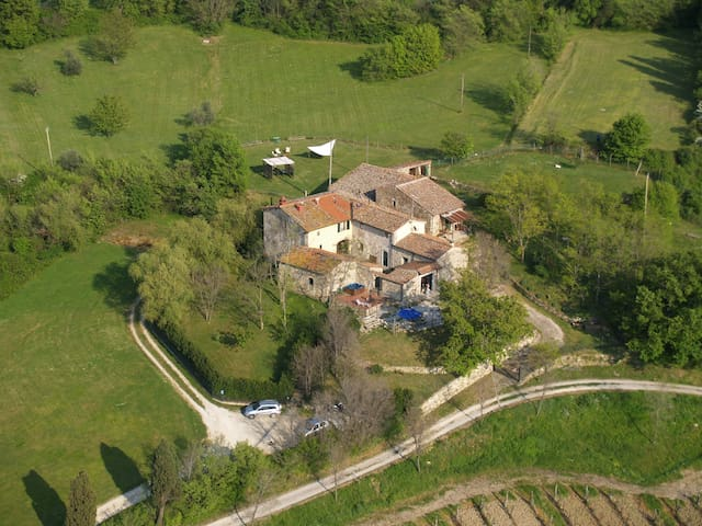 Farmhouse on the hill of Florence - Fiesole - Apartamento