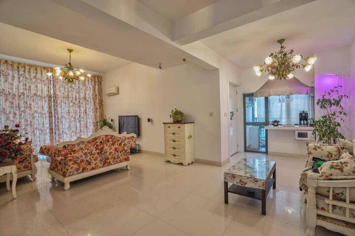 水木女舍 A2 大床房 花园、书房、音乐室、茶室、红酒区、独享阳光、宁静、清新。