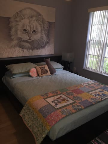 Unique Cat Themed Room for 2 - Orlando - Hus