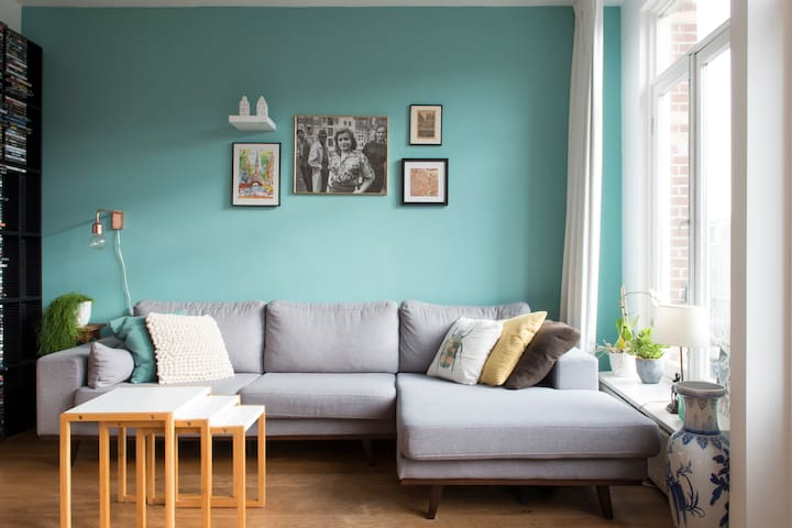 Cozy apartment in the hip and happening Javastraat - Amsterdam - Apartment