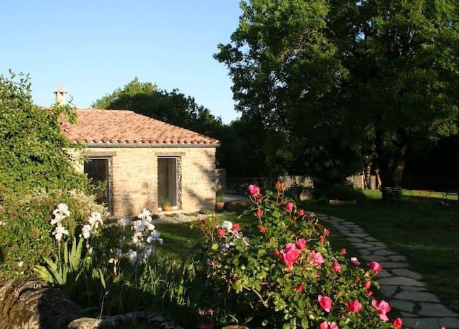 Cottage des Clauzals:  gite de sejour 2p - Le Cros - Huis