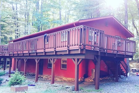 4 Bdrm Mountain Lake house - Gouldsboro - Hus