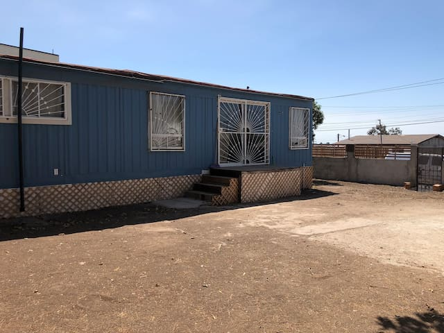 Blue house (MOBILE HOME)