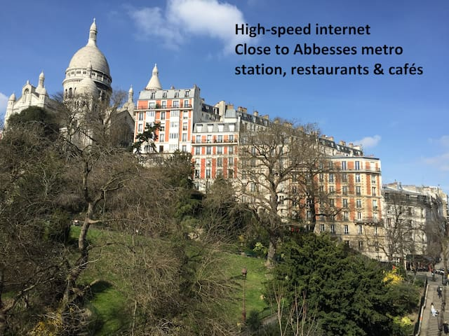 Heart of Montmartre - 10mn from Gare du Nord