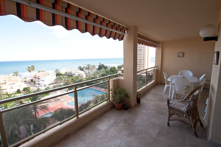 Beautiful appartment with sea views - El Puig - Lägenhet