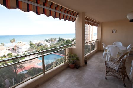 Beautiful appartment with sea views - El Puig - Apartamento