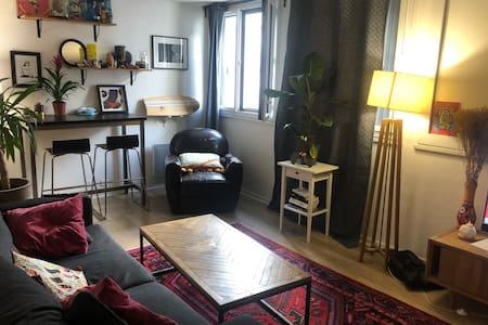 Appartement cosy proche place république