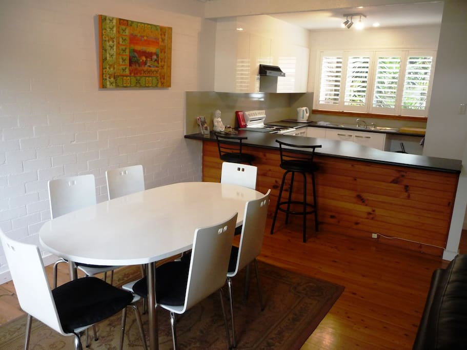 Living and kitchen facilities