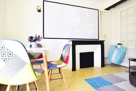 Sunny home in  Paris Marais@ Arts et Metiers