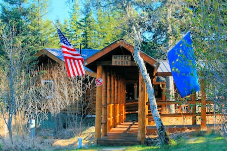 Cozy Moose Cabin Vacation Home - Anchor Point