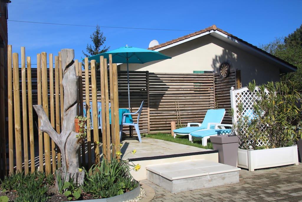 Arcachon gujan mestras maison individuelle jardin for Entretien jardin gujan mestras