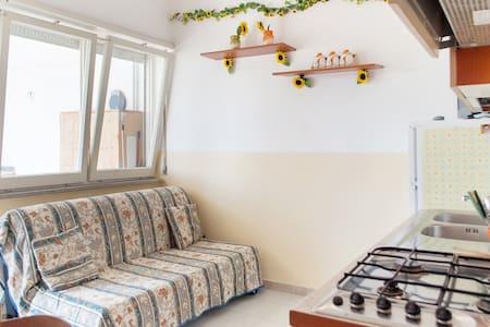 Large and bright apartment near Otranto - Otranto