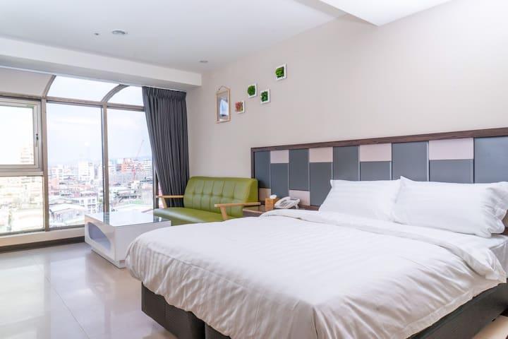 商務雙人房☛特價on sale!!近台北橋捷運站觀光夜市商圈公寓酒店4