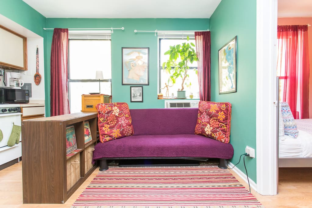 quirky cozy one bedroom studio apartments for rent in chicago