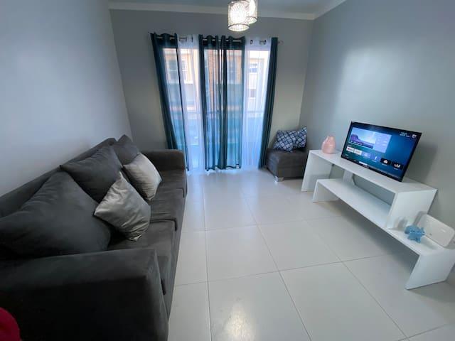 Modern 3 Bedroom Apt in Santiago RD W/ Pool